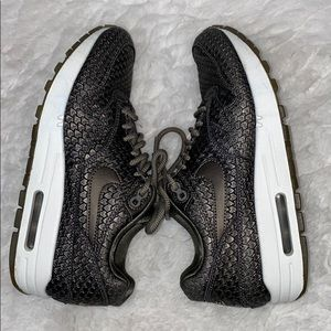 Nike Shoes - Nike women's Air Max 1 reptile pewter sneakers 7
